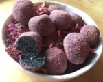 Black Sesame Herbal Truffles
